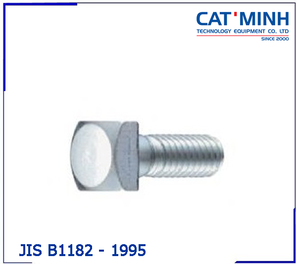 JIS B 1182-1995 Large square head bolts