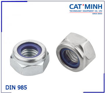 Tán keo(đai ốc khóa) DIN 985